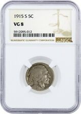1915 S 5C Buffalo Nickel NGC VG8 Very Good Circulated Coin