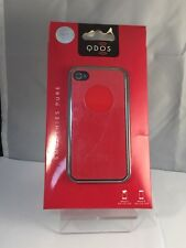 Brand New - Apple iPhone 4/4s - Red - Hard Back - Premium Protective Case Cover
