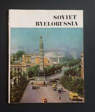 Vintage Soviet Byelorussia Booklet ~ Socialist Republic ~ USSR
