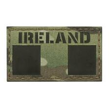 Ir ireland flag irish tricolour multicam morale tactical infrared patch
