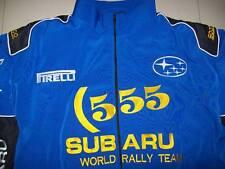 NEU SUBARU WRT 555 Fan - Jacke blau schwarz (gelb) jacket veste jas giacca jakka