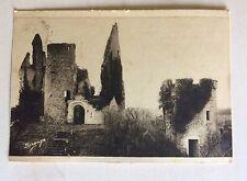 carte postale ancienne 58 Angles sur L'Anglin (Vienne) le Château XIe XIVe et