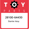28100-64430 Toyota Starter assy 2810064430, New Genuine OEM Part