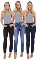 Ladies Quality Skinny Jeans Womens Slim Fit Denim Cotton Stretch