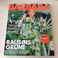 Zeitschrift BARBARA, Kein normales Frauenmagazin, Heft 27, Juli 2018