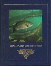 HOW TO CATCH SMALLMOUTH BASS Dick Sternberg HARDCOVER Fishing Book NEW NAFC