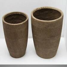 Plant Pots Planters Garden large Flower Indoor Outdoor Bronze TB0120 Lot 4 piece