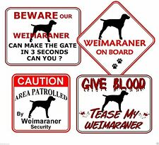 Laminated Dog Signs & Plaques