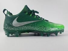 NIKE FOOTBALL Gorge Green/Silver VAPOR UNTOUCHABLE PRO CLEATS Shoes MENS 10 44