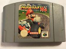 NINTENDO 64 N64 Cartouche de jeu Pak PAC Pack uniquement Super Mario Kart 64 Pal Gwo