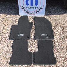 Jeep Renegade Premium Black Front and Rear Carpet Floor Mats NEW OEM MOPAR