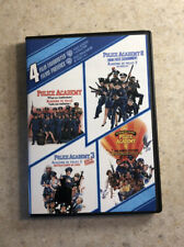 Police Academy 1-4 Collection: 4 Film Favorites (DVD, 2009, 2-Disc Set)