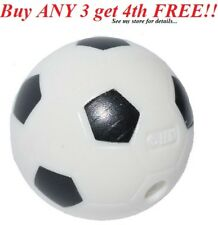 ☀️NEW Lego ROUND Soccerball Soccer ball Sports Minifigure minifig black white