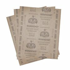 3 pc.Matador Sandpaper Wet or Dry 3000 Grit  9 inch X 11 inch sheets Germany