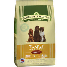 James Wellbeloved Adult Turkey & Rice Hypoallergenic Gluten Free Dog Food 15kg