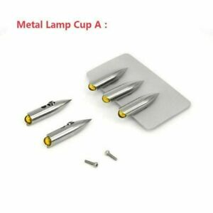 For 1/14 TAMIYA King RC Tractor Truck*1 LESU 3MM Metal Lamp Cup LED Lights Plate