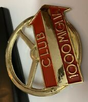 Car Badge-Club Miglia 1000 car grill badge emblem Logos metal enamled car badge