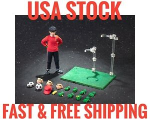(US Stock) Gt Toys Dasin Captain Tsubasa Wakabayashi Genzo 1/12 Action Figure