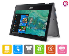 """Acer Spin 2-in-1 Quad Core Laptop 11.6"""" Touch Screen Bluetooth Webcam HDMI Win10"""