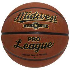 Midwest basketball Pro League Gummi/Polyester orange Größe 6