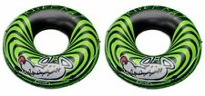 Inflatable Inner Tubes 2 Pack Pool Lake Toys Raft Floats Water Fun Kids Adults