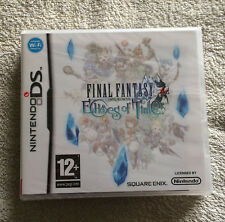 FINAL FANTASY - ECHOES OF TIME - NINTENDO DS - SQUARE ENIX - BLISTER D'ORIGINE