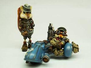 Resin Squirrel Brothers W//Mortorbike Unpainted Unassembled TK050