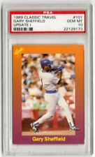 PSA 10 Gary Sheffield 1989 Classic #101 Rookie, Brewers, Padres, Yankees, Braves