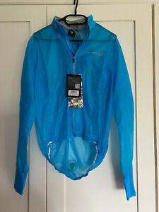 Endura FS260-Pro Adrenaline Race Cape II - Turquoise Brand New Tags Mens S