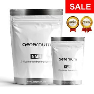 Nicotinamide Mononucleotide NMN Powder >99% CERTIFIED Purity Sublingual Beta β-