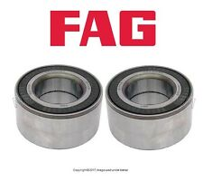 For BMW E46 325xi 330xi E52 X5 Pair Set of Two Front Wheel Bearings OEM FAG
