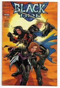 Black Tide #1 Image Comics 2001 VF+ Orange Cover