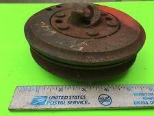 Studebaker crankshaft crank jaw and pulley, 5?????.    Item:  8159