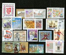 CROATIA  – 1991-2003  - SMALL  COLLECTION    – VF  **