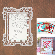 Hearts Backgrounds w Arrows Frame Cutting Dies – Valentine's Day Love & More