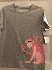 $78 Kate Spade NY Broome St. Monkey Tree Embellished Gray Tee  XL UC1