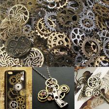 100g Vintage Watch Parts Steampunk Cyberpunk Cogs Gears Wheel Punk DIY Jewelry