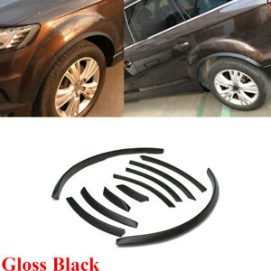 Fit For Audi Q7 RSQ7 Sline 2006-2015 Wheel Well Fender Flares Arch Lips 10PCS
