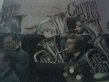 1977 magazine picture -   the fairey band champion brass