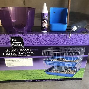 Hamster/ Guinuea Pig Cage + Food And Bedding