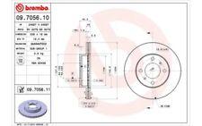 1x BREMBO Disco de freno delantero Ventilado 236mm 09.7056.11