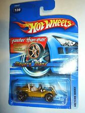 Hot Wheels 2005-139 Meyers Manx Gold Faster Than Ever