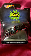 Hot Wheels Classic TV Series Batmobile Die-Cast 1:50 Scale Boys Ages 8 & Up New