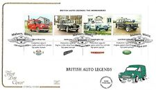 GB 2013 BRITISH AUTO LEGENDS MINI SHEET COTSWOLD OFFICIAL FDC