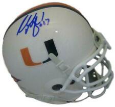 Russell Maryland Autographed Miami Hurricanes Schutt Mini Helmet JSA 12285