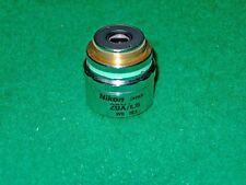 Nikon CF Plan 20x/0.35 SLWD ∞/0 WD 20.5mm EPI objective