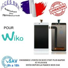 Ecran Complet Tactile et LCD Pour Wiko Pulp Fab 4G LCD and Touch Screen  Blanc