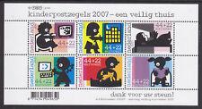 NVPH nr.2527 blok kinderzegels 2007 postfris (MNH)
