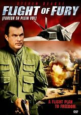 NEW DVD // FLIGHT OF FURY -  Steven Seagal, Ciera Payton, Alki David,