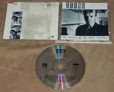 STING The Dream of the Blue Turtles CD 1985 Original A&M THE POLICE Bring on***